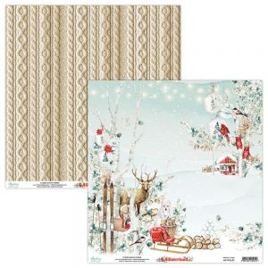papier scrapbook Mintay Papers - winterland 01