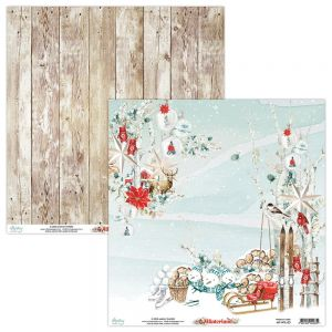 papier scrapbook Mintay Papers - winterland 03