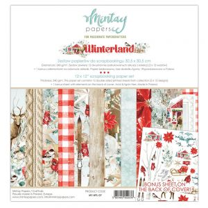 papier scrapbook Mintay Papers- winterland [zestaw]