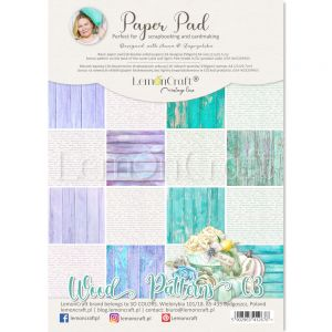 papier scrapbook LemonCraft - wood patterns 03 [bloczek/pad]
