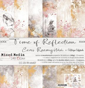 "papier scrapbook Craft o'clock - time on reflection [zestaw 12"" x 12""]"