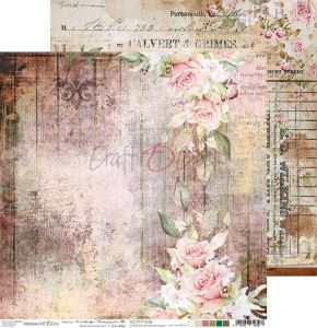 papier scrapbook Craft o'clock - vintage treasure 06