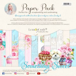 papier scrapbook LemonCraft - something sweet [bloczek/pad]