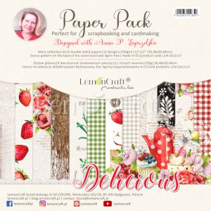 papier scrapbook LemonCraft - delicious [bloczek/pad]