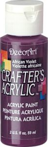 farba akrylowa DecoArt Crafter's Acrylic - fioletowy (african violet) 59ml [DCA74]