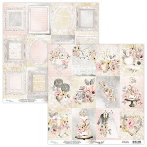 papier scrapbook Mintay Papers - marry me 06