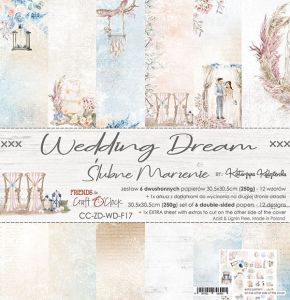 "papier scrapbook Craft o'clock - wedding dream [zestaw 12"" x 12""]"