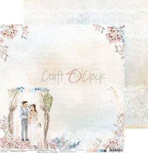 papier scrapbook Craft o'clock - wedding dream 05