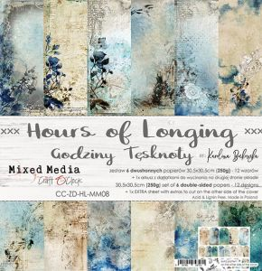 "papier scrapbook Craft o'clock - hours of longing [zestaw 12"" x 12""]"