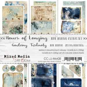 "papier scrapbook Craft o'clock - hours of longing - junk journal [zestaw dodatków 6"" x 12""]"