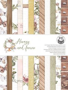 papier scrapbook P13 - always and forever [bloczek/pad] 6x8""