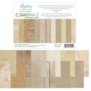 papier scrapbook Mintay Papers - basic book 2 - neutral [bloczek/pad]