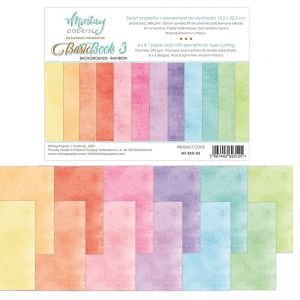 papier scrapbook Mintay Papers - basic book 3 - rainbow [bloczek/pad]