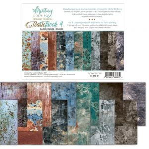 papier scrapbook Mintay Papers - basic book 4 - grunge [bloczek/pad]