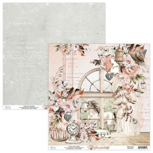 papier scrapbook Mintay Papers - florabella 01