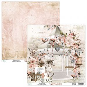 papier scrapbook Mintay Papers - florabella 02