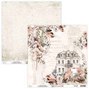 papier scrapbook Mintay Papers - florabella 03