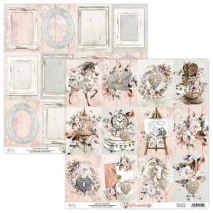 papier scrapbook Mintay Papers - florabella 06