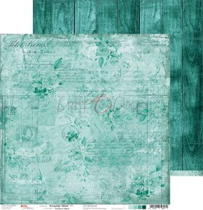 papier scrapbook Craft o'clock - turquoise mood 04