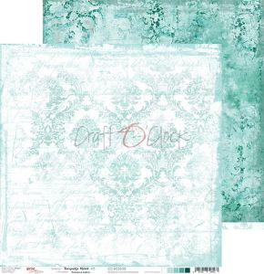 papier scrapbook Craft o'clock - turquoise mood 03