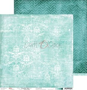 papier scrapbook Craft o'clock - turquoise mood 02