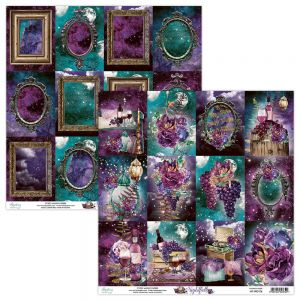 papier scrapbook Mintay Papers - nightfall 06