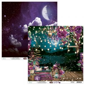 papier scrapbook Mintay Papers - nightfall 01