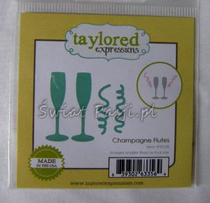wykrojnik Taylored expressions - champagne flutes [TE539]