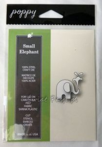 wykrojnik Poppy Stamps - small elephant [1370]