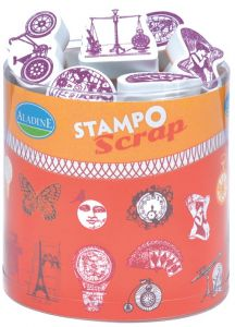 stemple Aladine - stamp O scrap: steampunk