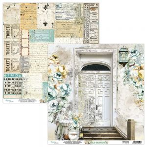 papier scrapbook Mintay Papers - old manor 02