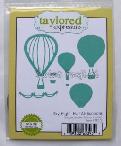 wykrojnik Taylored expressions - hot air balloons [TE579]