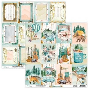 papier scrapbook Mintay Papers - wilderness 06
