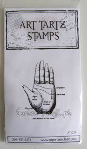 stempel gumowy Art Tartz stamps - dłoń [AT-029]