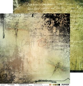 papier scrapbook Craft o'clock - faded memories 02