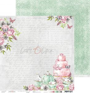 papier scrapbook Craft o'clock - felici'tea' 01
