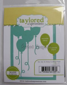 wykrojnik Taylored expressions - up, up & away cutting plate