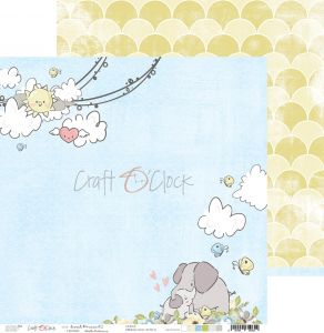 papier scrapbook Craft o'clock - sweet prince 02