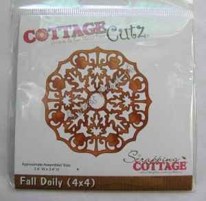 wykrojnik Cottage Cutz - fall doily [301]