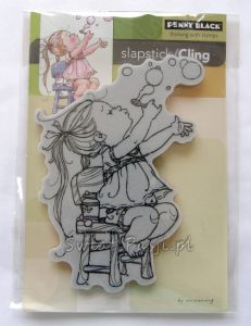 stempel gumowy Penny Black - bubble girl [40-228]