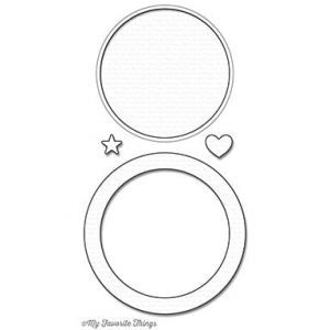 wykrojnik Die-namics - circle shaker window & frame [1099]