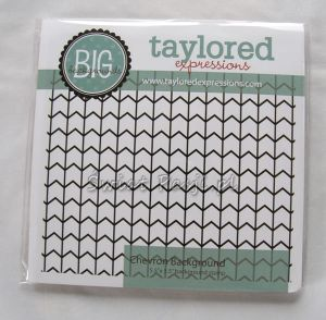stempel gumowy Taylored expressions - chevron background