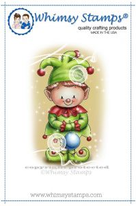 stempel gumowy Crissy Armstrong Collection - christmas elf