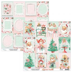 papier scrapbook Mintay Papers - the sweetest christmas 06
