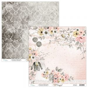 papier scrapbook Mintay Papers - marry me 01