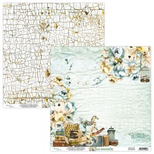 papier scrapbook Mintay Papers - old manor 01