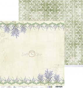 papier scrapbook Craft o'clock - lavender hills 04