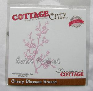 wykrojnik Cottage Cutz - cherry blossom branch [102]