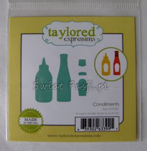 wykrojnik Taylored expressions - conditments [TE581]