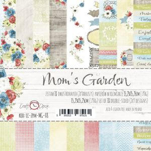 "papier scrapbook Craft o'clock - mom's garden [zestaw 6"" x 6""]"